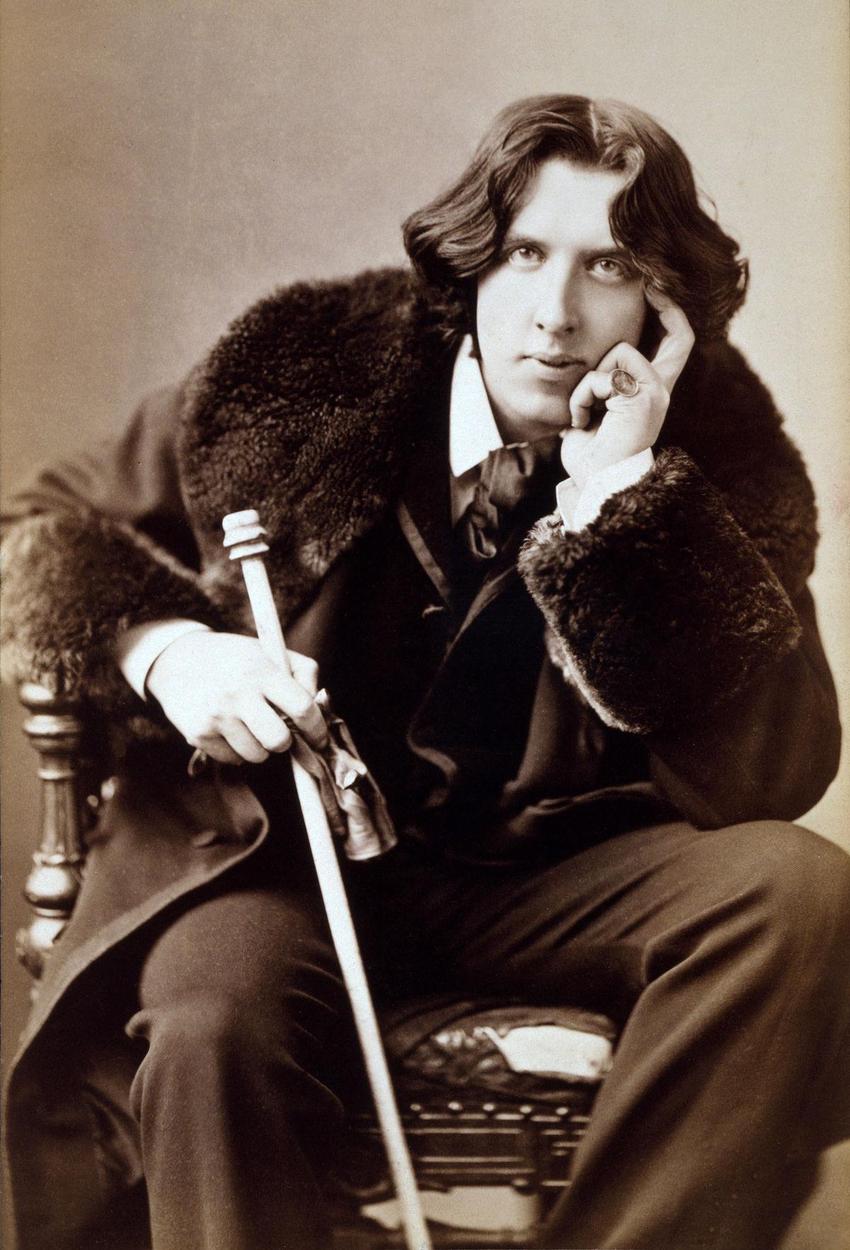 Portrait Oscar Wilde