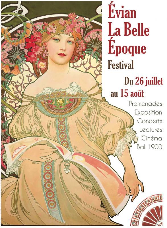 Affiche Festival Belle Epoque