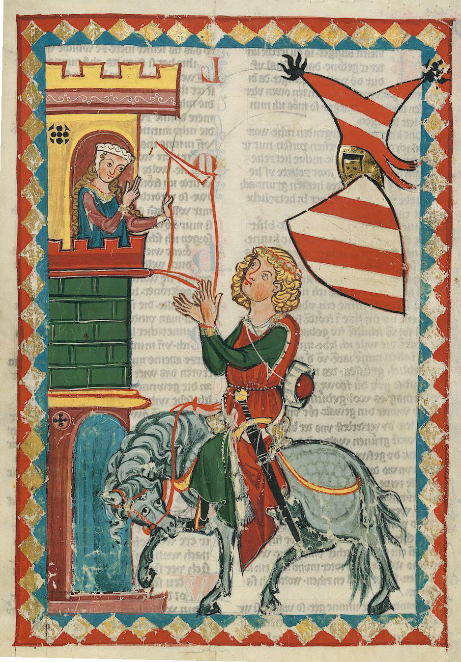 Codex manesse minnesa nger 1