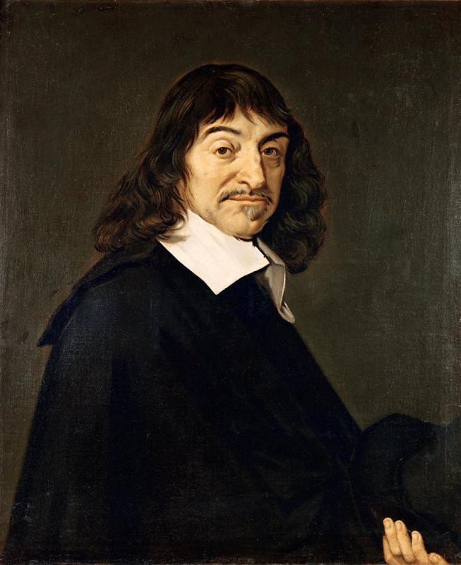 Frans hals portret van rene descartes