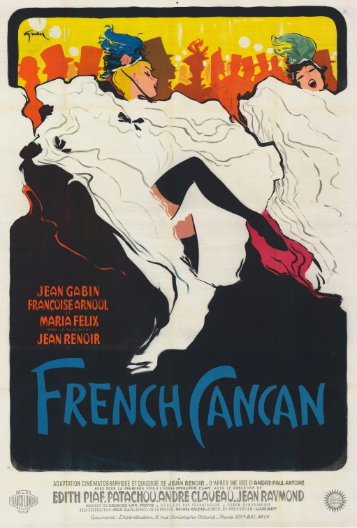 French cancan jean renoir 1954