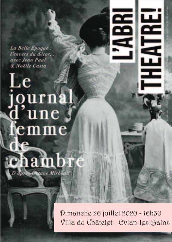 Affiche Journal d'une femme de chambre