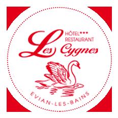 Logo hotel evian les cygnes