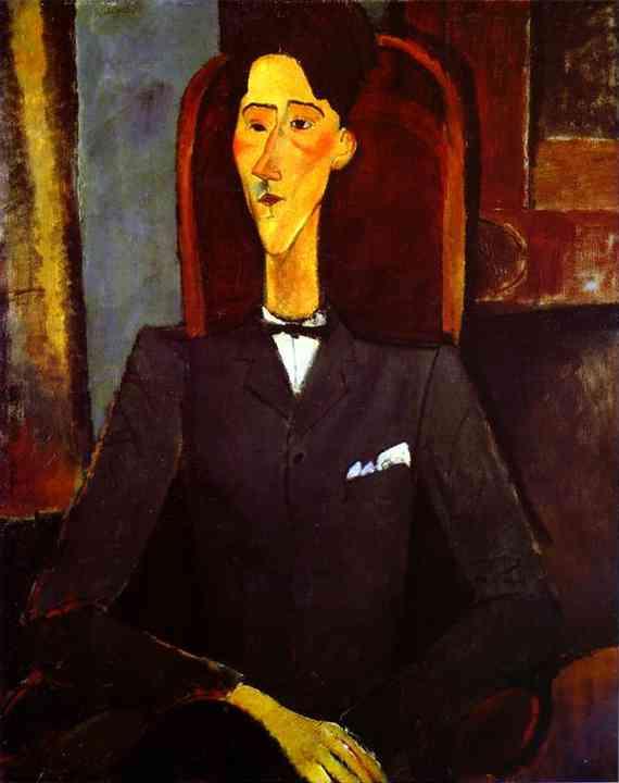 Modigliani amedeo 1884 1920 ritratto di jean cocteau 1889 1963 1916