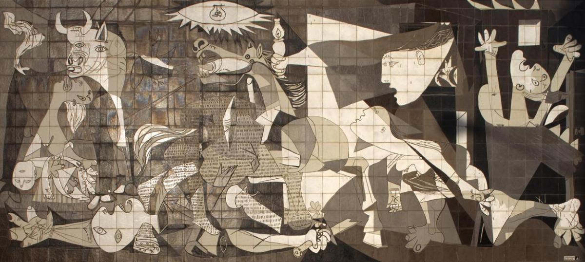 Mural del gernika 1