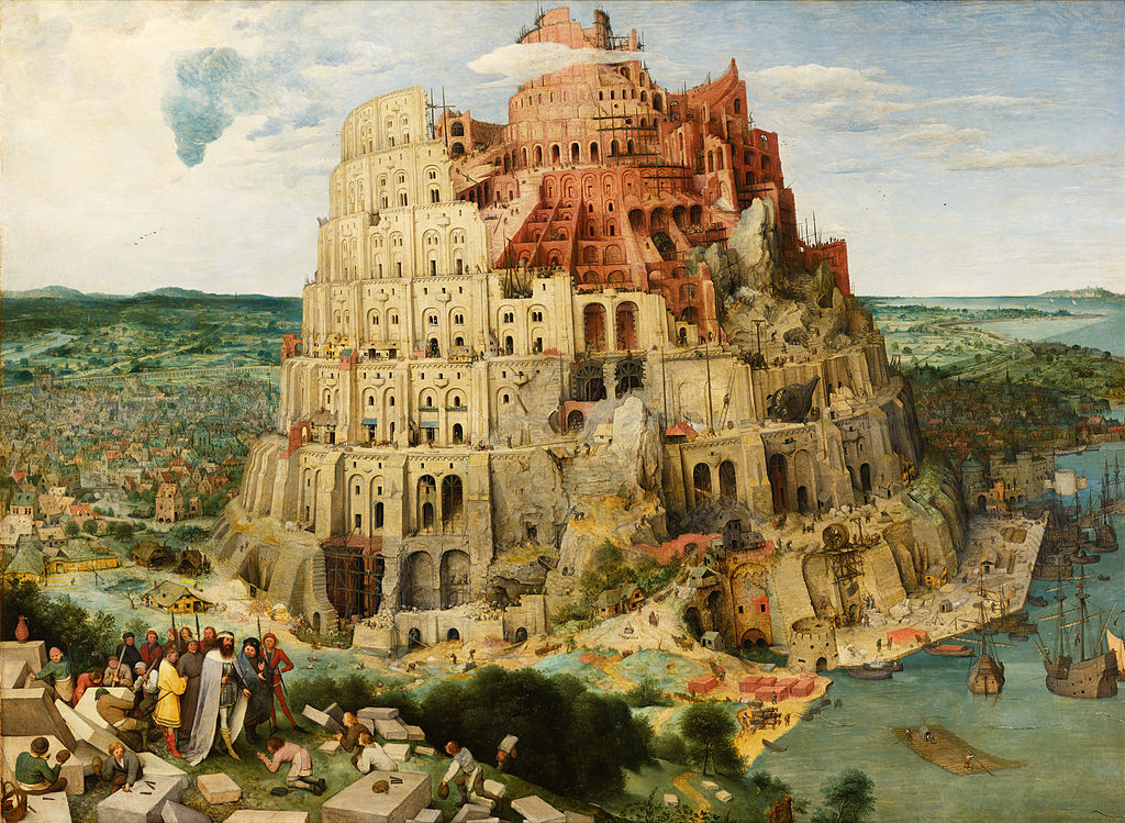 Pieter Bruegel the elder the tower of babel vienna google art project edited