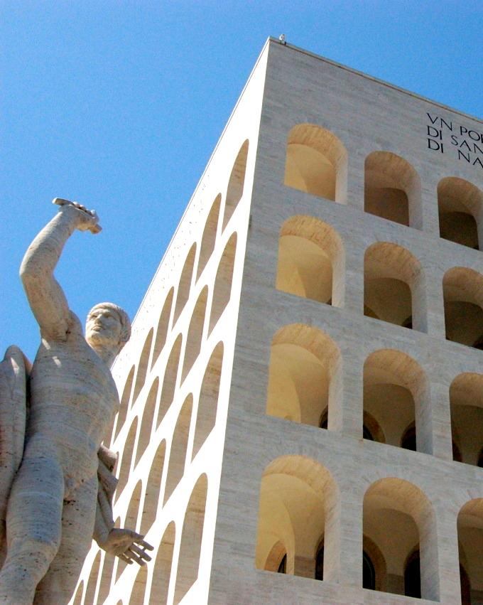 Rome - Palais de la civilisation italienne
